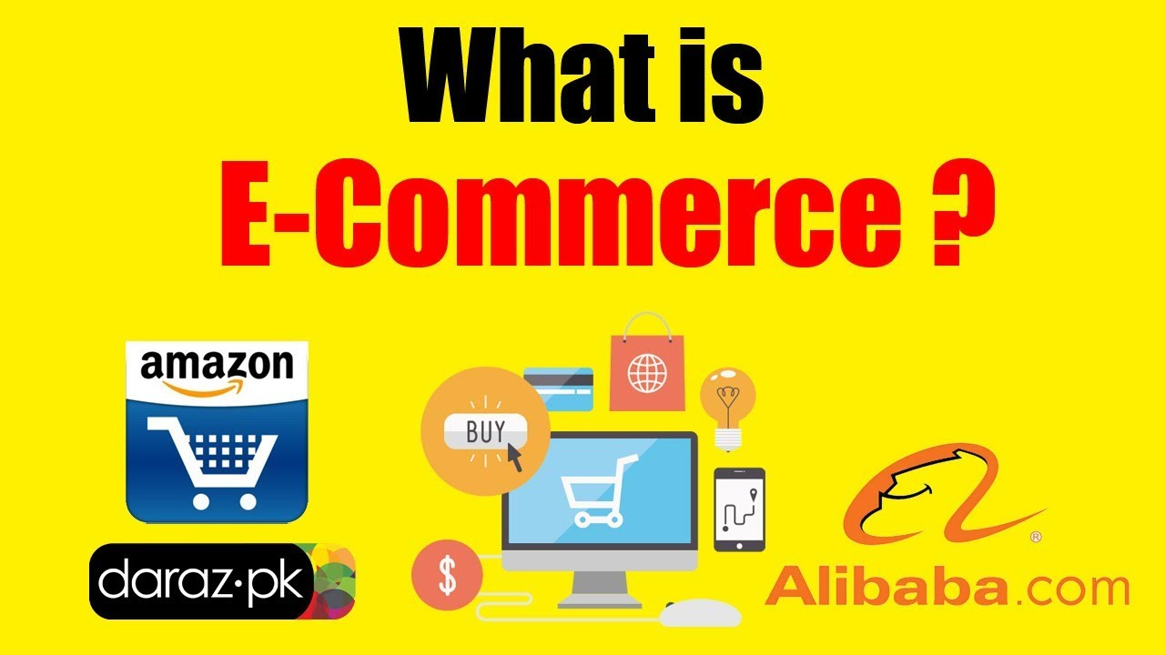 what is e commerce in urdu/hindi - what is e commerce business in