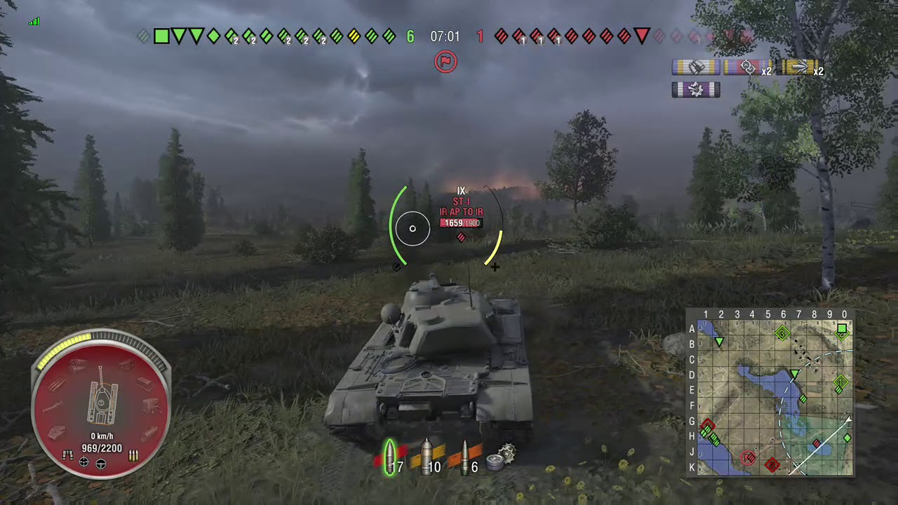 WOT Console II T110E5 - 6k Blocked (Armour Test)