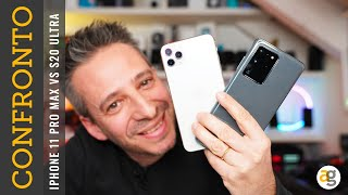 IPHONE 11 PRO MAX vs SAMSUNG GALAXY S20 ULTRA Confronto