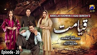 Qayamat - Episode 20 || English Subtitle || 16th March 2021 - HAR PAL GEO