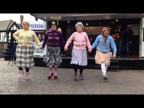 The Dancing Grannies - New Routine