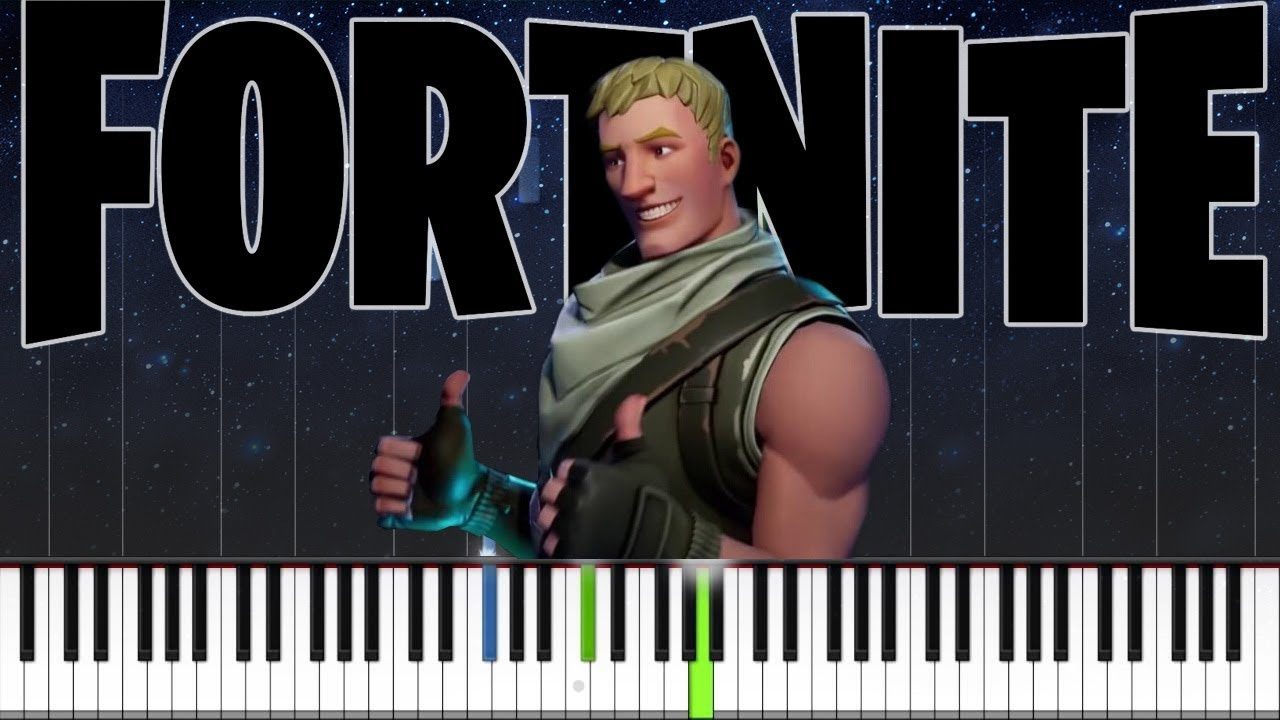 Fortnite Dances Compilation - EASY PIANO TUTORIAL - YouTube