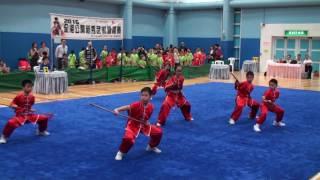 佛教林炳炎紀念學校G~學校組小學組槍術第六名 (2016全港