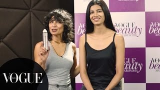 How To Use Dry Shampoo? | Beauty Masterclass with Adhuna | Vogue Beauty Awards 2016 | VOGUE India