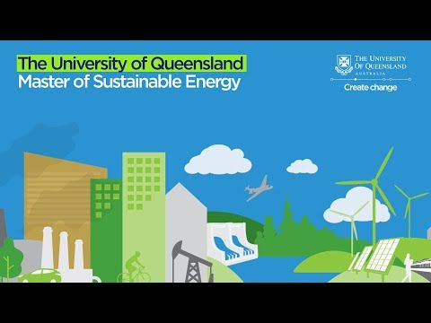 Study the UQ Master of Sustainable Energy