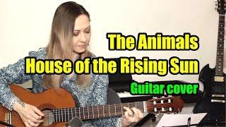 Скачать The Animals House Of The Rising Sun На гитаре разбор
