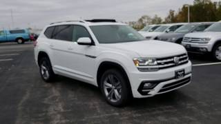 2019 VW Atlas 3.6 SEL R-Line 4Motion with bench seats