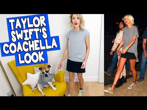 RECREATING TAYLOR SWIFT'S COACHELLA LOOK // Grace Helbig