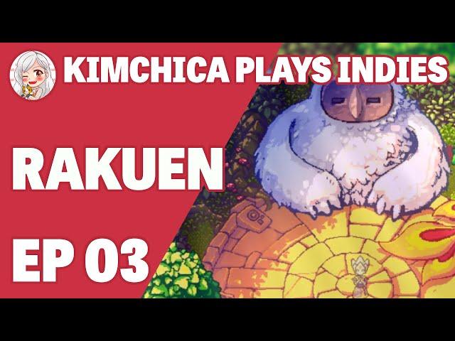 Meeting Motizora // Kimchica Plays: Rakuen (Ep 03)