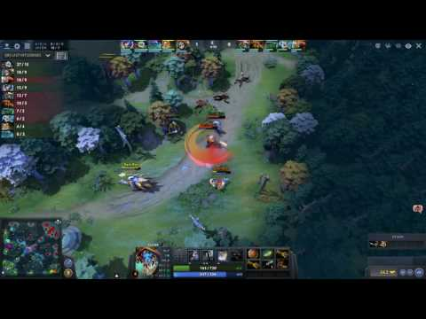 DOTA 2 BOT MAJOR - Group B Game 7 - Bot Experiment Credit: Furiouspuppy vs Bot