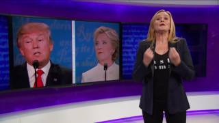 Repeat youtube video Debate 3: The Good, The Bad, The Nasty (Act 1, Part 1) | Full Frontal with Samantha Bee | TBS