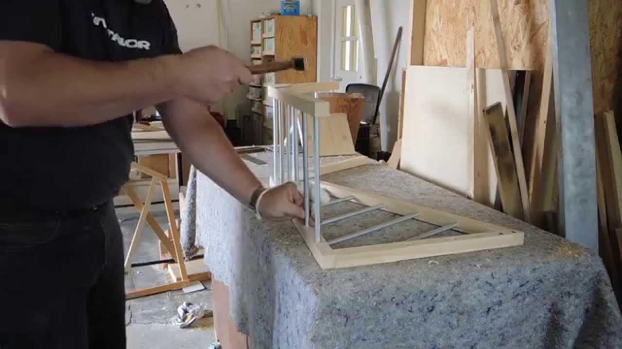 hundegitter hundebox f rs auto selber bauen selbst gemacht diy 002 heimwerker youtube. Black Bedroom Furniture Sets. Home Design Ideas