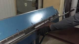 видео Гибка листового металла своими руками и изготовление гибочного станка