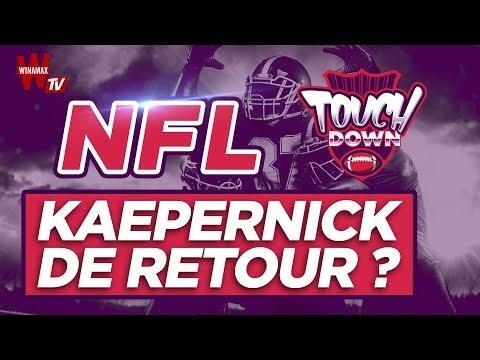 🏈 Touchdown #3 : Kaepernick, de retour en NFL ?