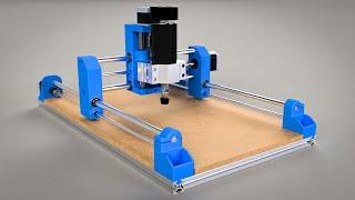 How To Build 3D Printed Dremel CNC