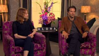 Aloha: Bradley Cooper & Emma Stone Official Movie Interview
