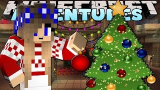 Minecraft-Little Carly Adventures-DECORATING THE CASTLE FOR CHRISTMAS w/Little Kelly.
