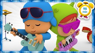 🎹 POCOYO in ENGLISH - I Am the Music Man [98 minutes] | Full Episodes | VIDEOS and CARTOONS for KIDS