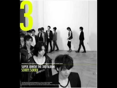 Super Junior - Sorry, Sorry (Full Album)