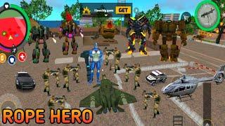 Rope Hero Big Fight With Villen || Rope Hero Vice Town screenshot 4