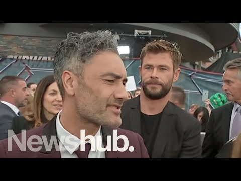 Taika Waititi  at Sydney premiere of Thor: Ragnarok  hub