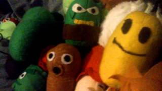 My home made plants vs zombies plush collection