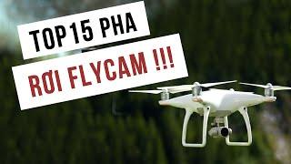 LKRC - TOP 15 Vụ Tai Nạn Flycam Hài Hước Nhất. Cười Đau Bụng