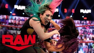 Asuka vs. Peyton Royce: Raw, Mar. 22, 2021