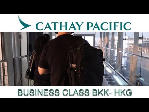 TRIP REPORT Cathay Pacific Boeing 777 Regional Business Class BKK HKG