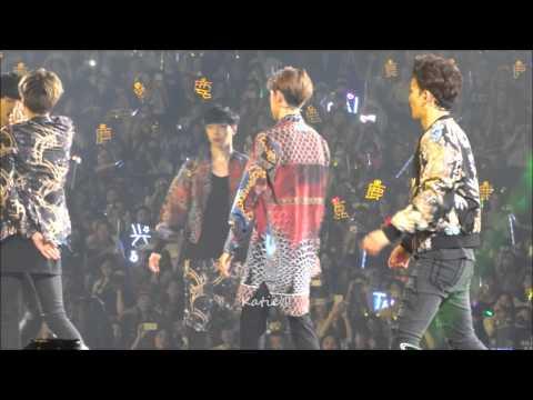 [fancam] 140830 Exo The Lost Planet In Guangzhou Dance Battle And XOXO (Sehun Ft.Luhan Focus)