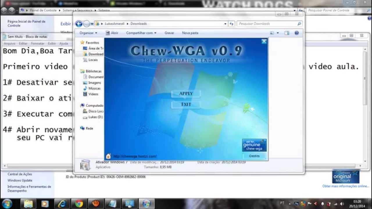 ativador do windows 7 baixaki