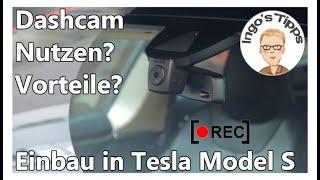 Dashcam im Auto Sinnvoll oder Quatsch? von Cozero, Vorteile und Einbau in Tesla Model S | IngosTipps