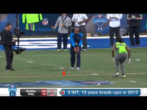 Combine workout Bradley Roby