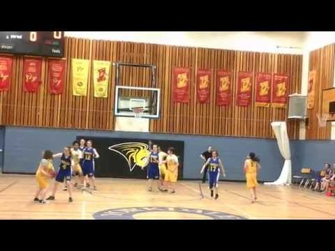 Columbia  Cougars VS Yorkdale Royals basketball friendly game.