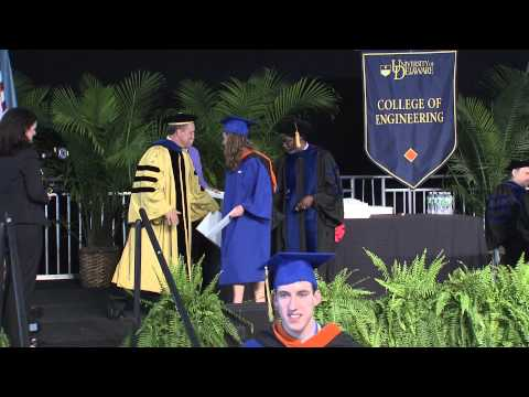2013 University of Delaware College of Engineering Convocation