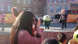 Minion Universal Studio JAPAN  ,halloween,Minion Mayhem,Minion park【USJ】环球影城日本奴才 ハロウィン パレード 2018
