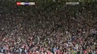 Sheffield United Vs Sheffield Wednesday 1-0 Jamie Ward