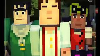 Minecraft story mode episode 1 (must watch:)