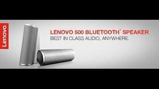 Unboxing Of Lenovo 500 2.0 BT Speaker