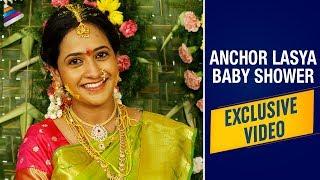 Anchor Lasya Baby Shower Exclusive Video | Anchor Lasya Manjunath | Telugu FilmNagar