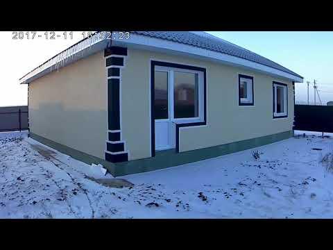 Стройтельство домов в пригороде Уфы