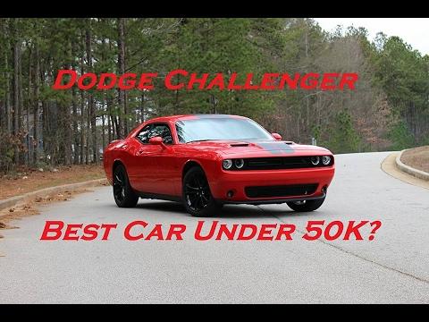dodge challenger best car under 50k youtube. Black Bedroom Furniture Sets. Home Design Ideas