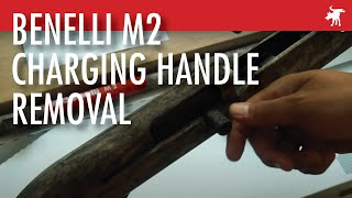 Benelli M2 Easy Charging Handle Removal