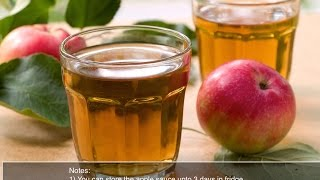 Gambar cover how to make Homemade Apple Juice / Apple Juice / Fresh Apple Juice Recipe