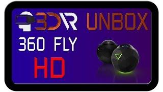 Розпакування камери 360Fly HD. 3D-VR - все про віртуальної реальності.