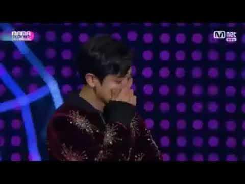 [ENGSUB/INDOSUB CC] Baekhyun Speech on MAMA Make Me Cry