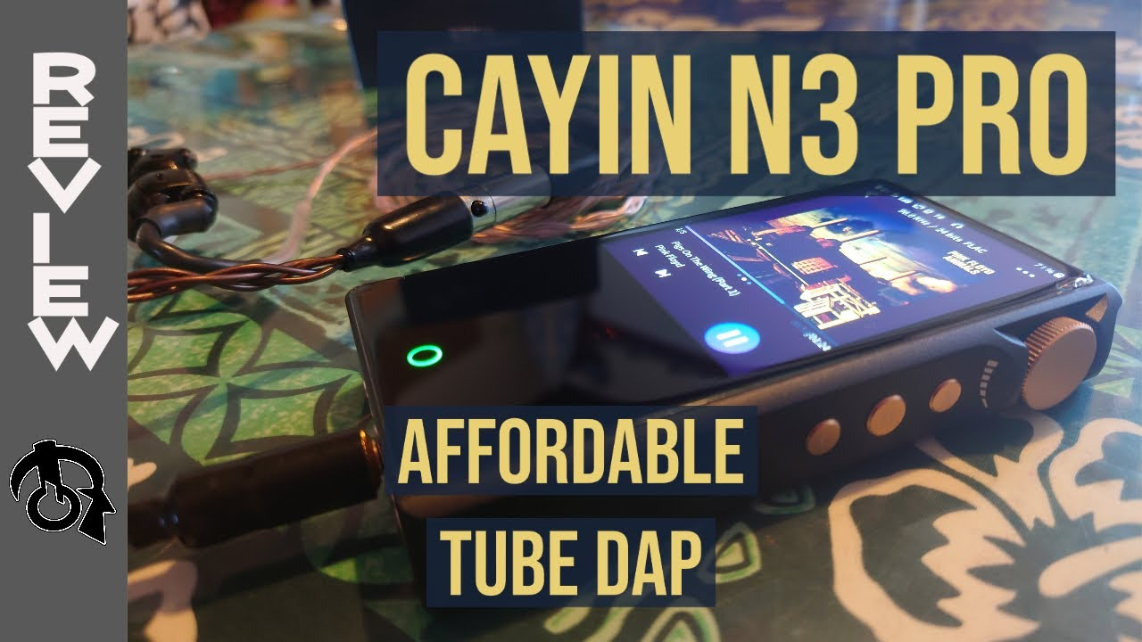 Cayin N3 PRO (Tube/Solid state) Portable Music player DAP