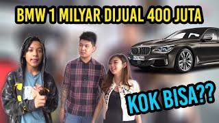 BOCAH NYAMAR JADI ANAK BOS SHOWROOM, BMW 1 MILYAR DIJUAL 400 JUTA
