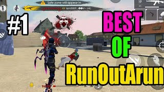 Free fire best game play|| free fire tricks and tips|| best of runoutarun #1|| Run gaming