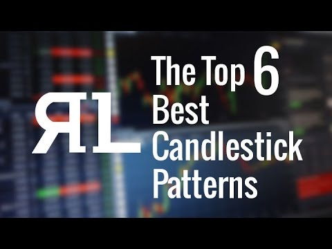 The Top 6 Best Candlestick Patterns